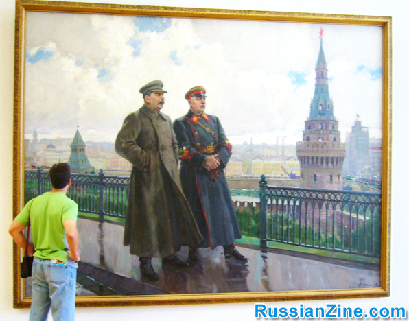 stalin-paininting-moscow