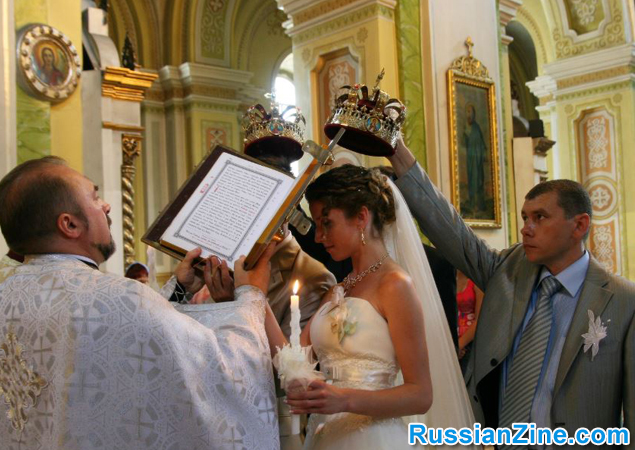 Russian / Ukraine Wedding - church