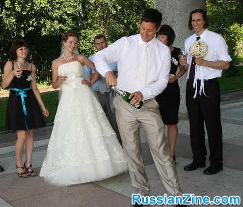 Russian Wedding - Wedding Party