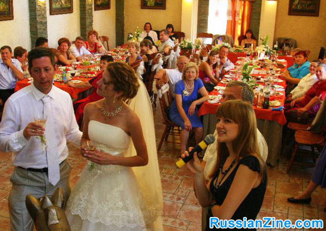 Russian / Ukraine Wedding - Toasts