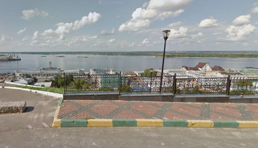 View from Federovsky Embankment