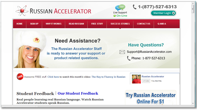 Best Program for Learning Russian is Russian Accelerator
