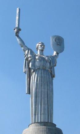 Kiev Motherland Statue