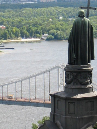Kiev Dnepr River