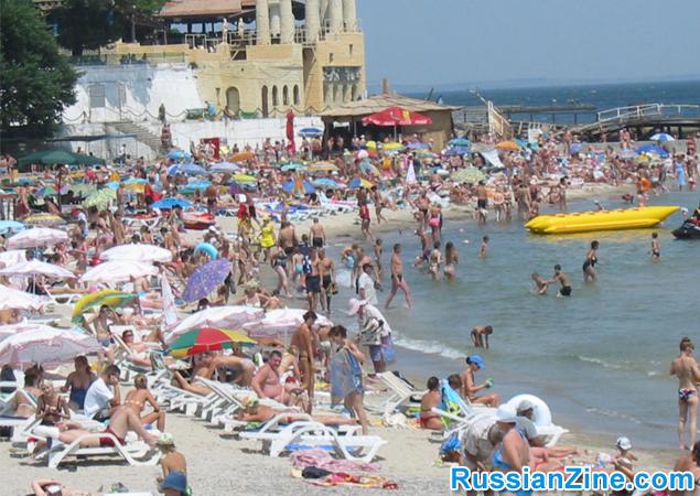 Arcadia Beach in Odessa